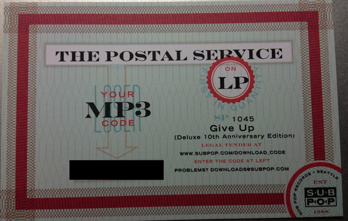 Reissue Review The Postal Service Give Up Modern Vinyl