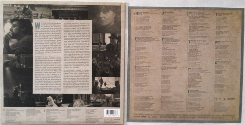 Review Various Artists Inside Llewyn Davis Ost Modern