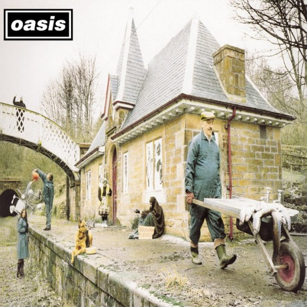Oasis 7″ on sale at indie stores