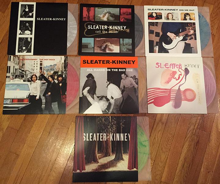 Vinyl Review Sleater Kinney Start Together Modern Vinyl