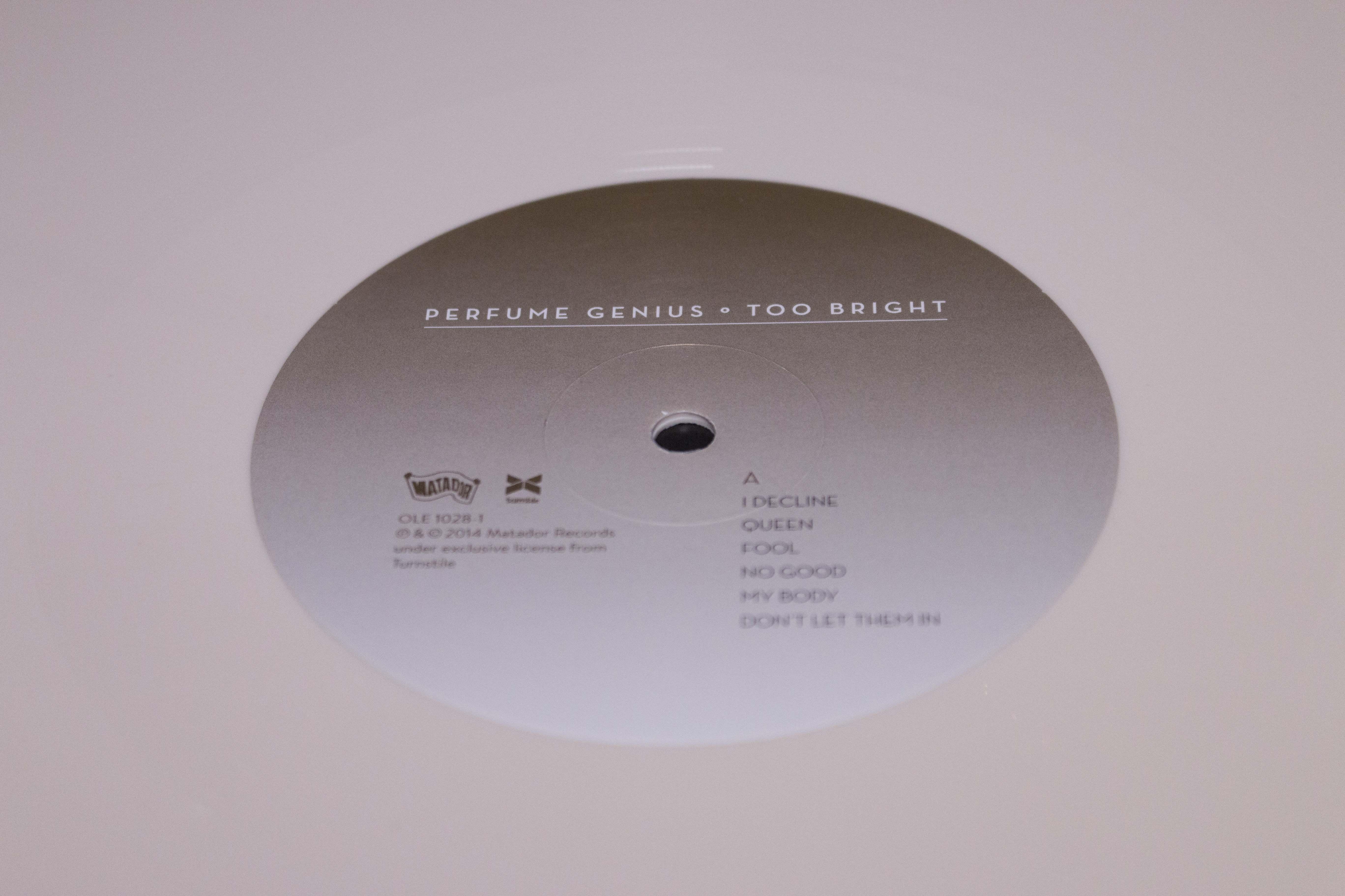 Vinyl Review Perfume Genius Too Bright Vinyl Me