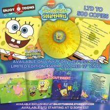 Spongebob vinyl details revealed