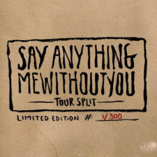 Say Anything, mewithoutyou release 7″ split