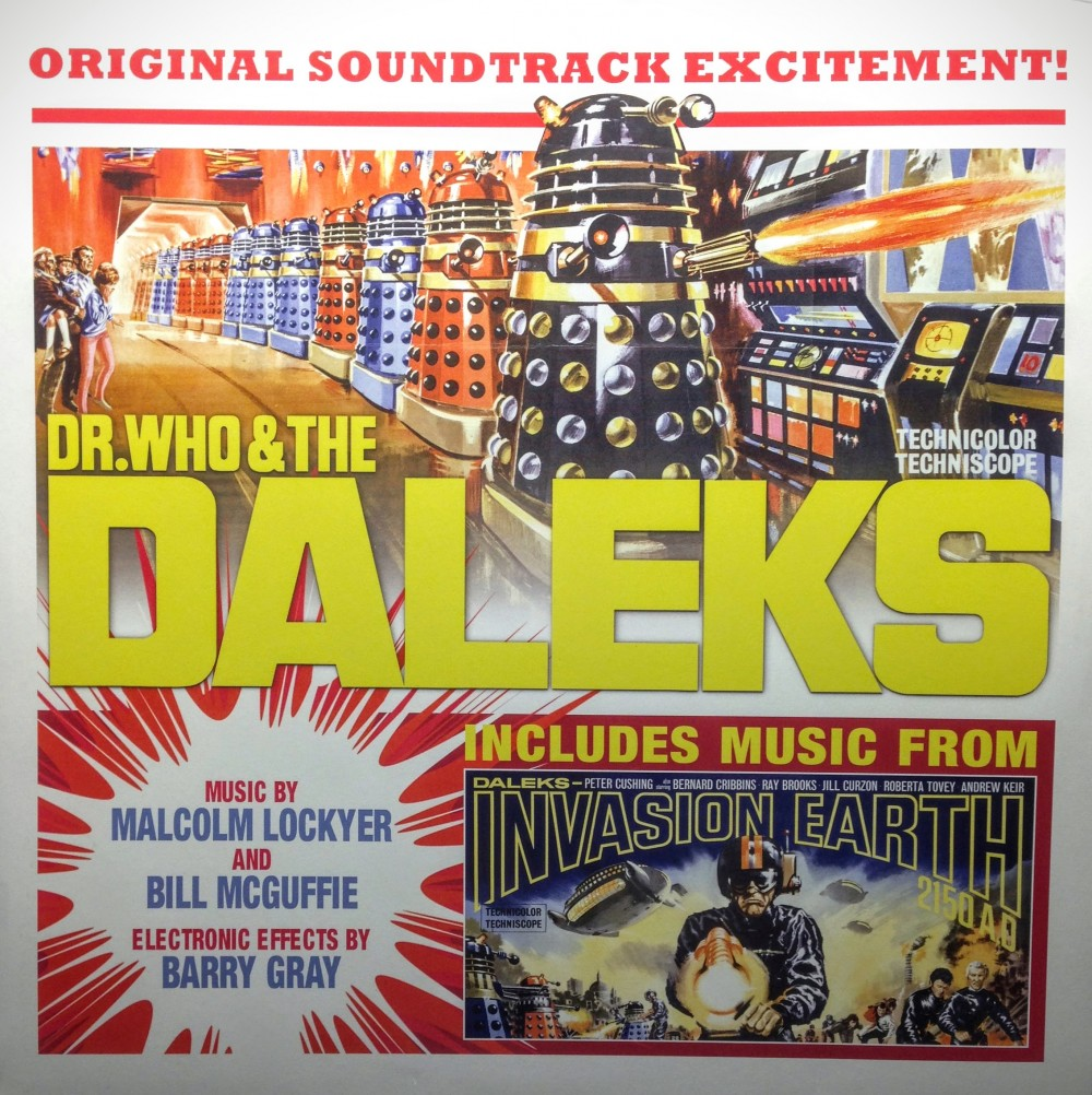 Vinyl Review Malcom Lockyer Amp Bill Mcguffie Dr Who And