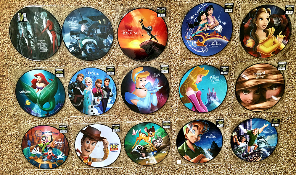 Vinyl Review: Disney Picture Discs ‹ Modern Vinyl