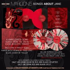 New Pressing: Maroon 5 — Songs About Jane