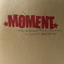 Moment's discography being released on vinyl