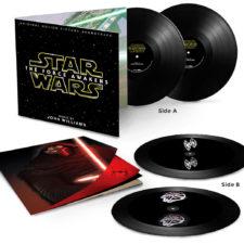 'Force Awakens' hologram vinyl unveiled