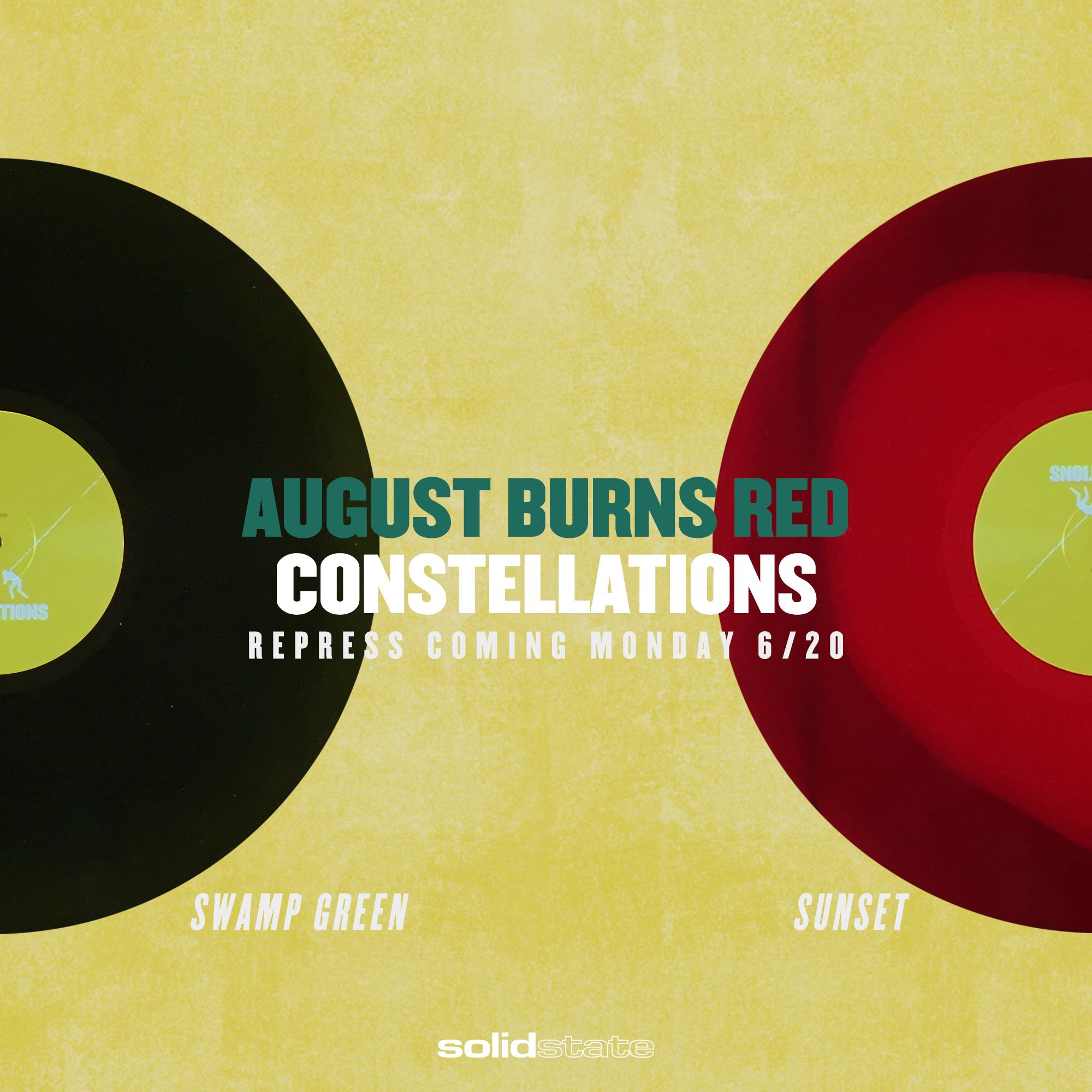 Phantom Sessions Ep August Burns Red: August Burns Red's 'Constellations' Getting Repressed