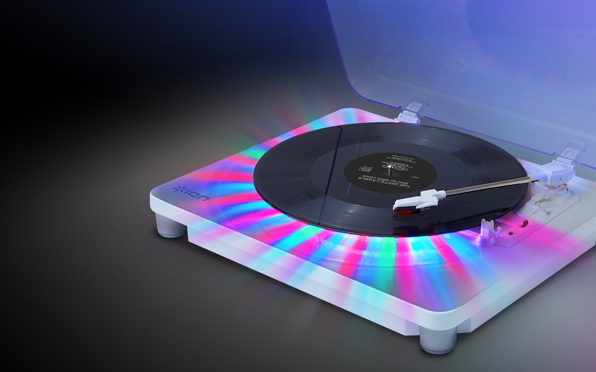 Ion Photon Turntable Lights Up With Beat Modern Vinyl