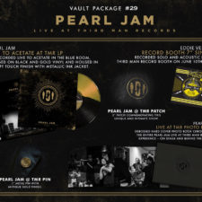 New Third Man vault centers on Pearl Jam
