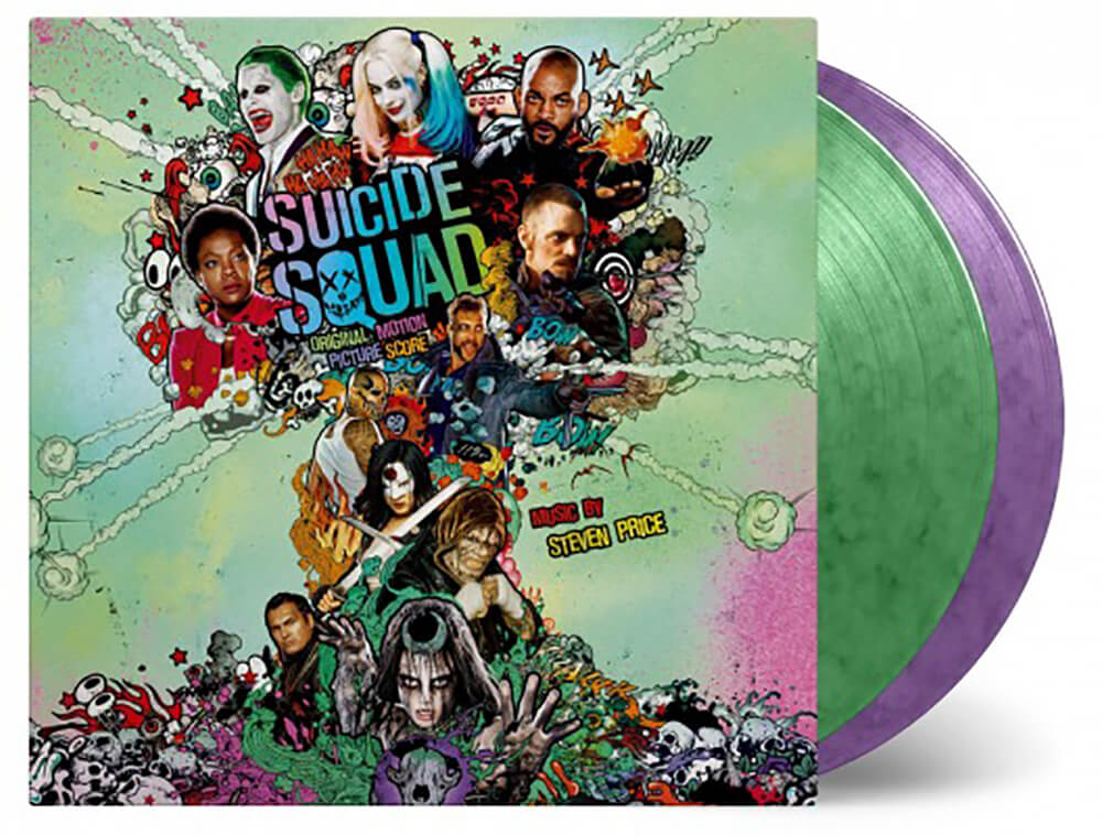 Price S Suicide Squad Score Coming To Wax Modern Vinyl