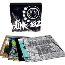 blink-182 box-set listed at UK, Canada