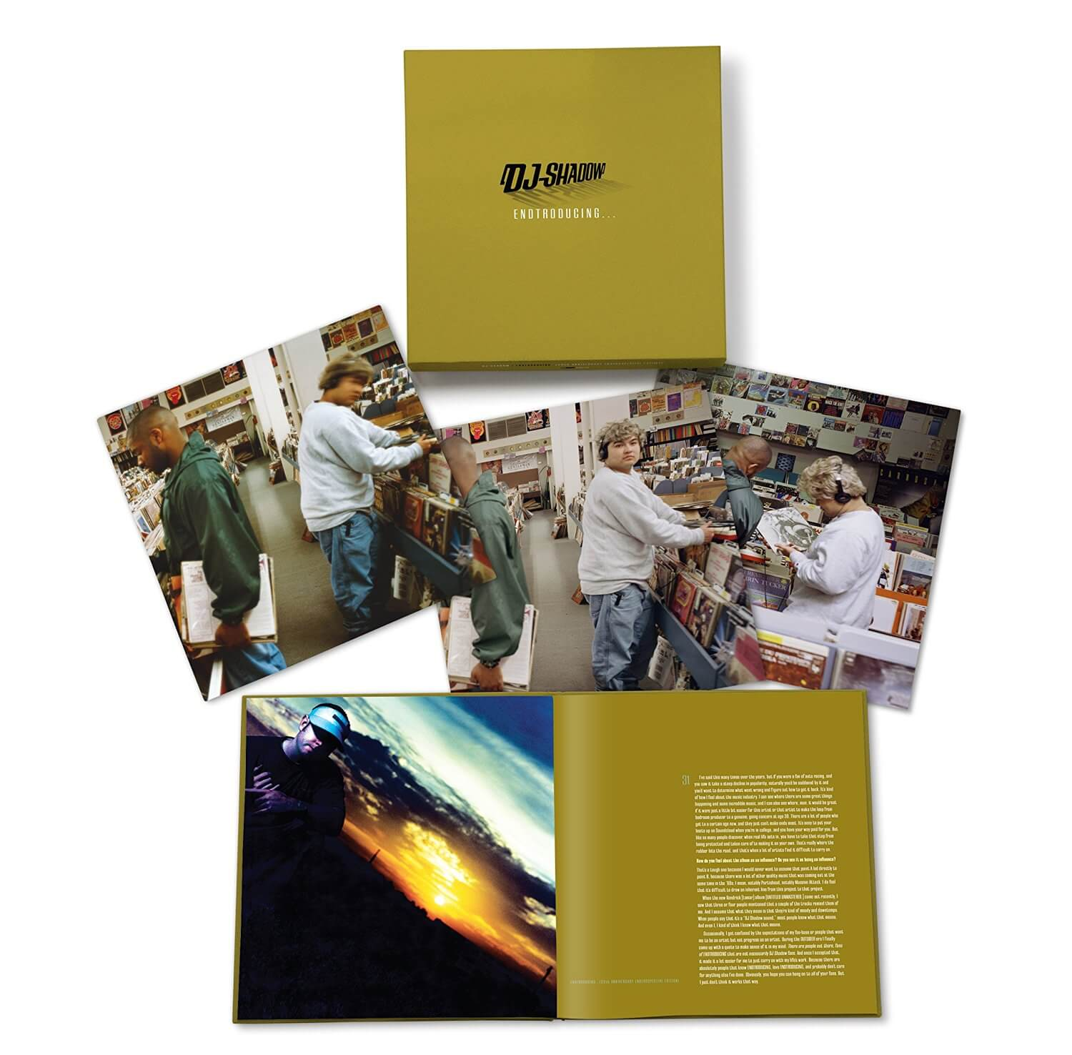 Dj Shadow Endtroducing Box Set Up For Pre Order Modern