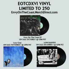 Envy On The Coast announce records for sale