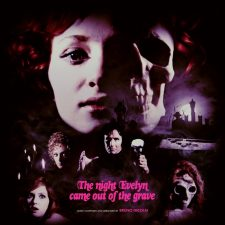 'The Night Evelyn Came Out Of The Grave' pressing up