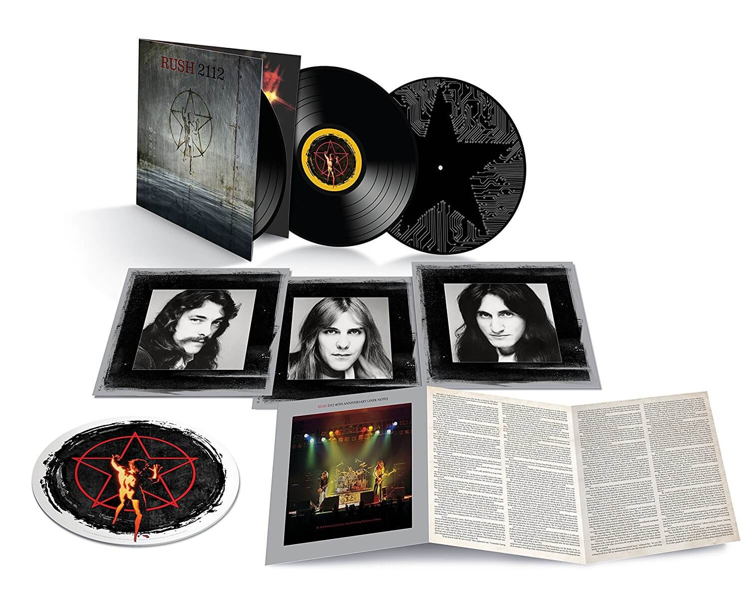 Rush S 2112 Getting 40th Anniversary Reissue Modern Vinyl