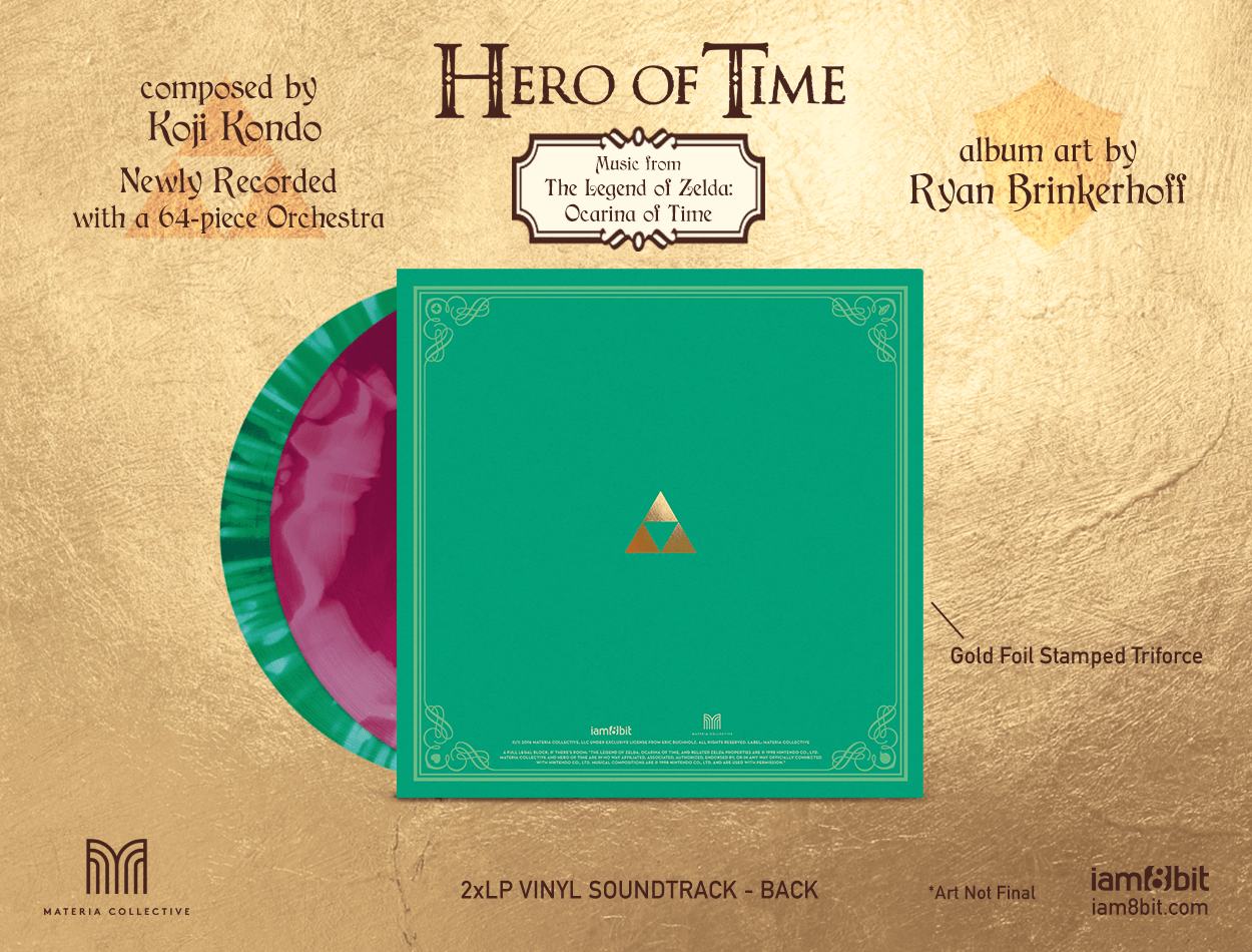 Iam8bit Releasing Newly Recorded Ocarina Of Time