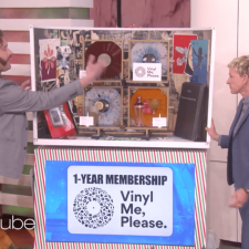 VNYL, Vinyl Me Please make appearances on Ellen