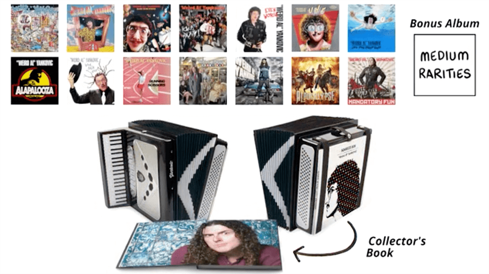 That Weird Al Box Set Is Now Up For Order Modern Vinyl