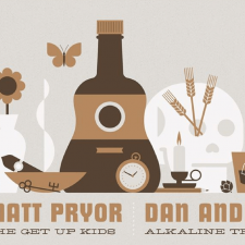 Matt Pryor, Dan Andriano releasing 7″ split for tour