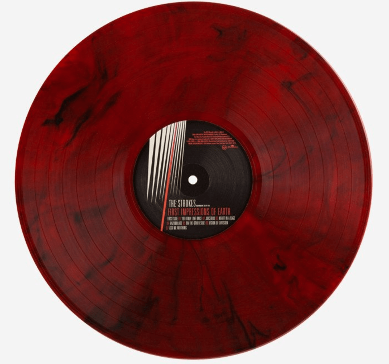 New Pressing The Strokes First Impressions Of Earth