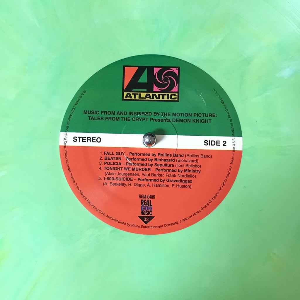 Vinyl Review Various Artists Demon Knight Ost Modern