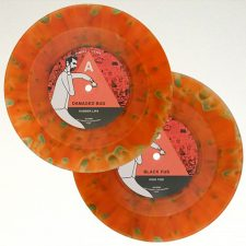 Damaged Bug, Black Pus mark LAMC 7″ return