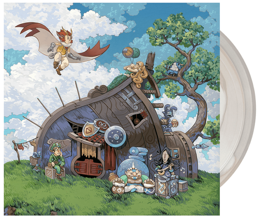 Owlboy Soundtrack Getting Pressed Through Iam8bit