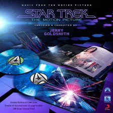 'Star Trek The Motion Picture' score pressed to vinyl