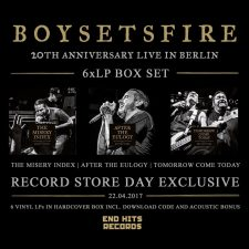 RSD 2017: Boysetsfire releasing live box-set