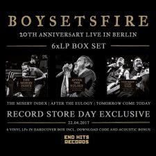 RSD 2017: Boysetsfire releasing live box-set