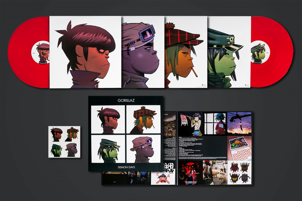 Vinyl Review Gorillaz Demon Days Modern Vinyl