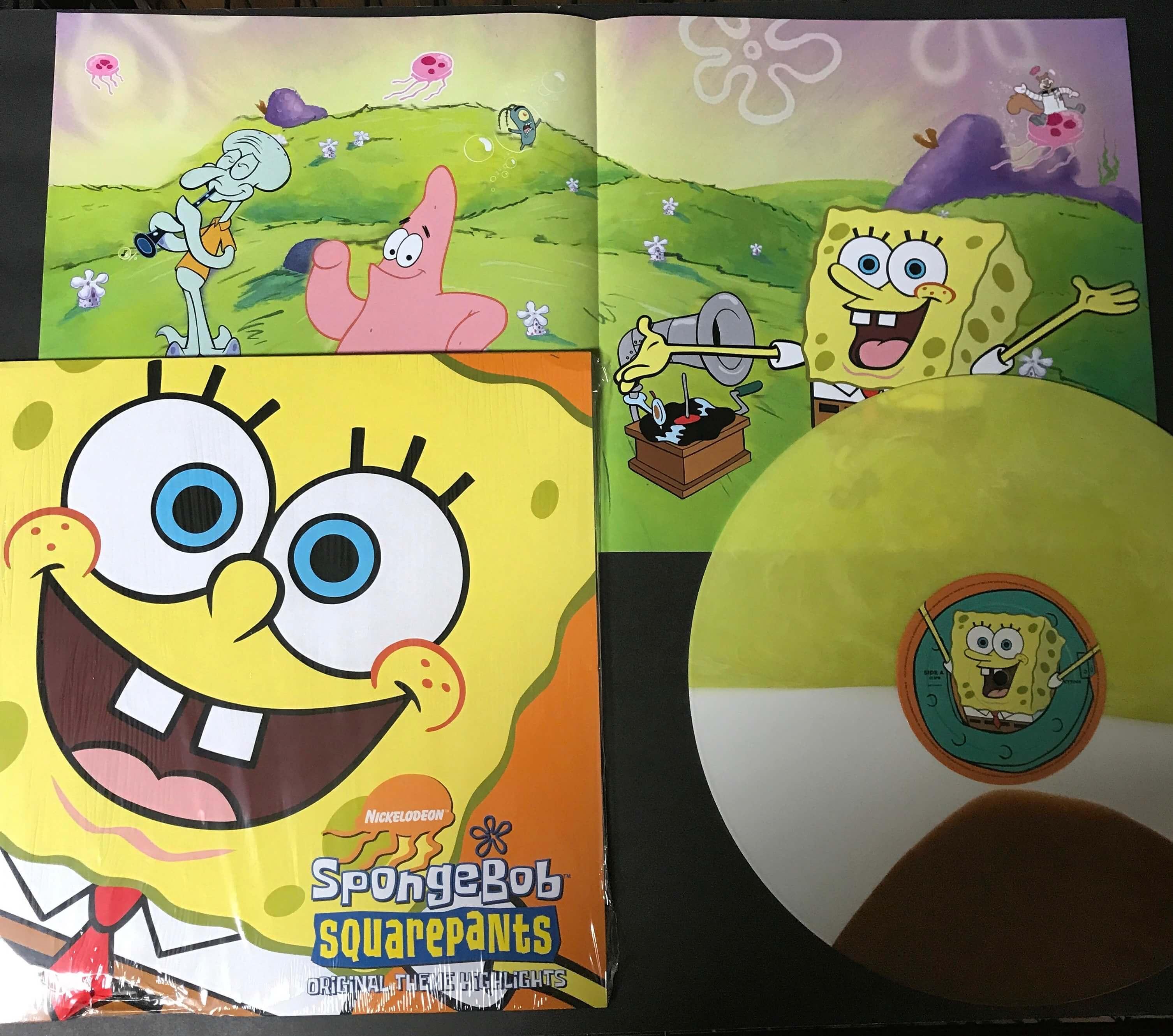 new pressing various artists u2014 spongebob squarepants u2039 modern vinyl