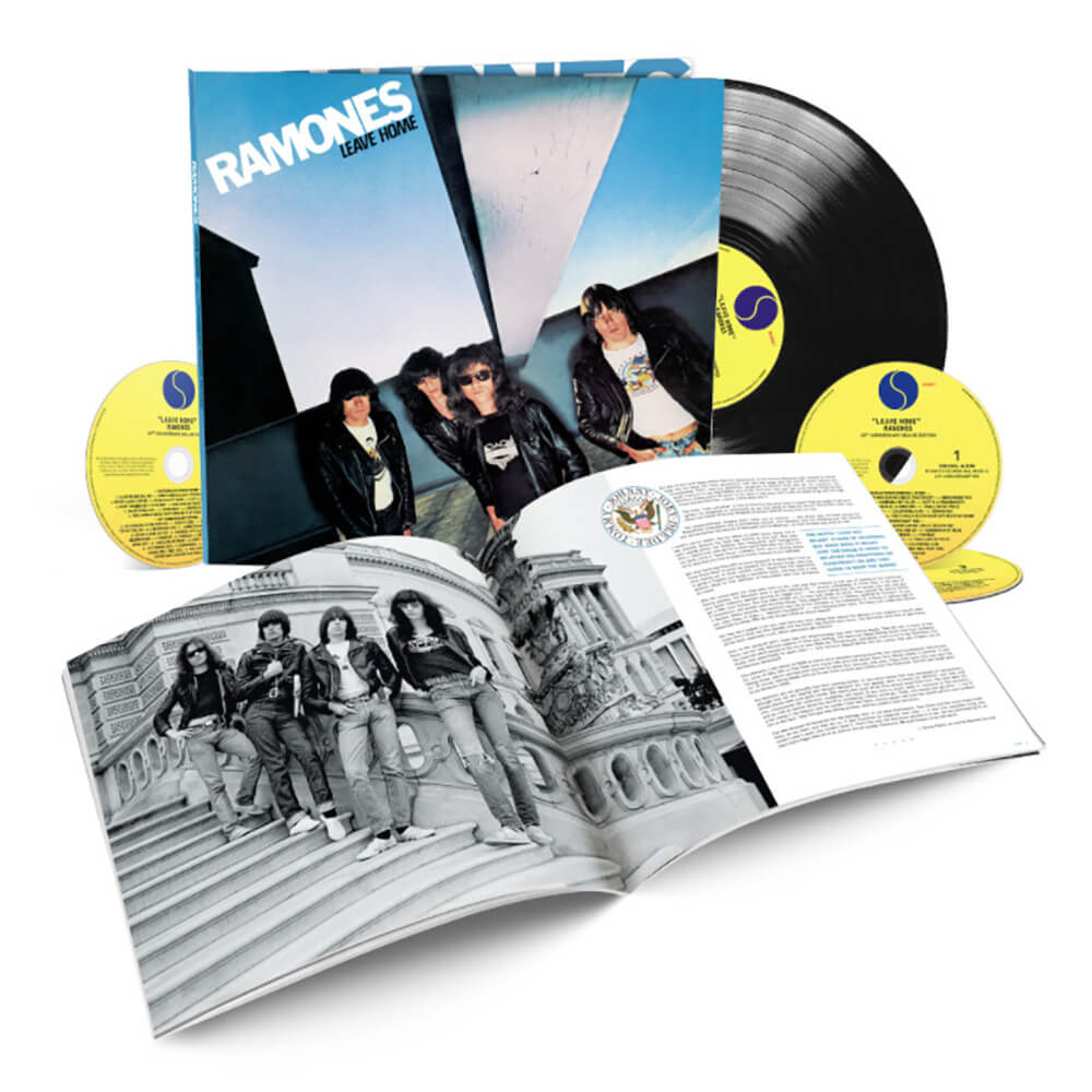 Ramones Leave Home Getting Box Set Release Modern Vinyl