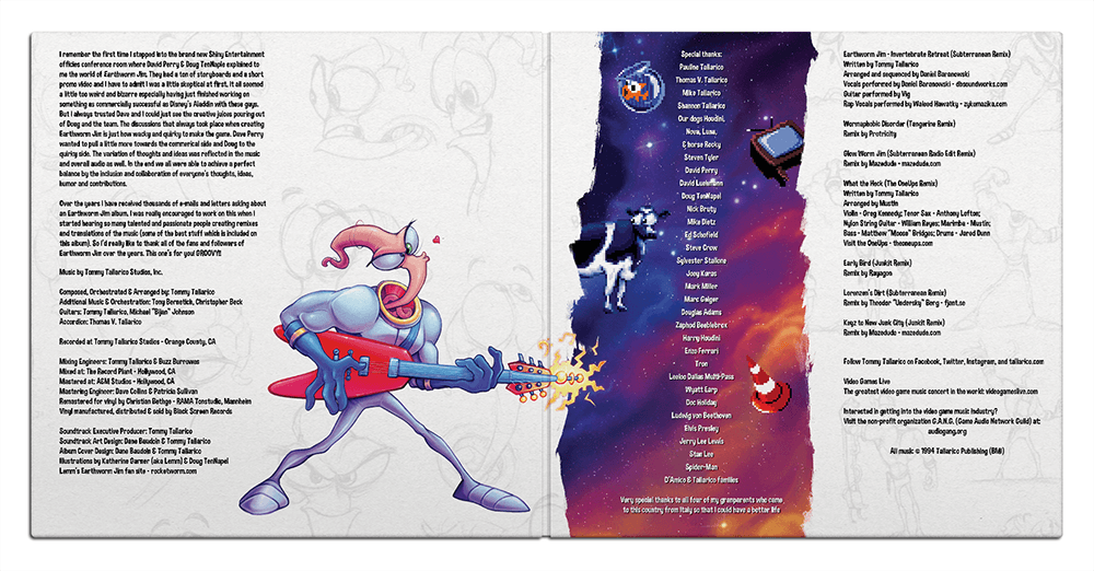 Earthworm Jim Music Getting Pressed Modern Vinyl