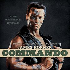 James Horner's 'Commando' soundtrack getting pressed