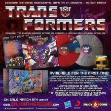 Enjoy The Toons releasing 'Transformers' cartoon music